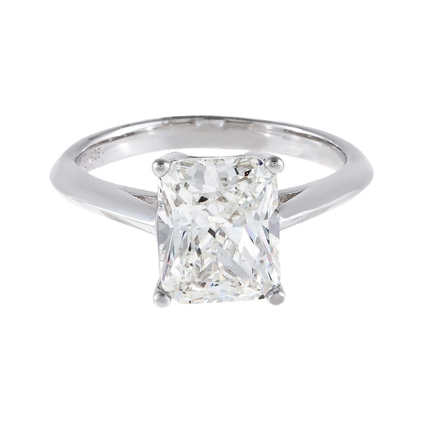 CZ Emerald Cut Travel Ring - Adina's Jewels