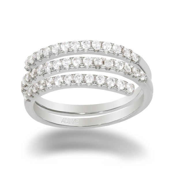 Pavé Multi Wrap Ring
