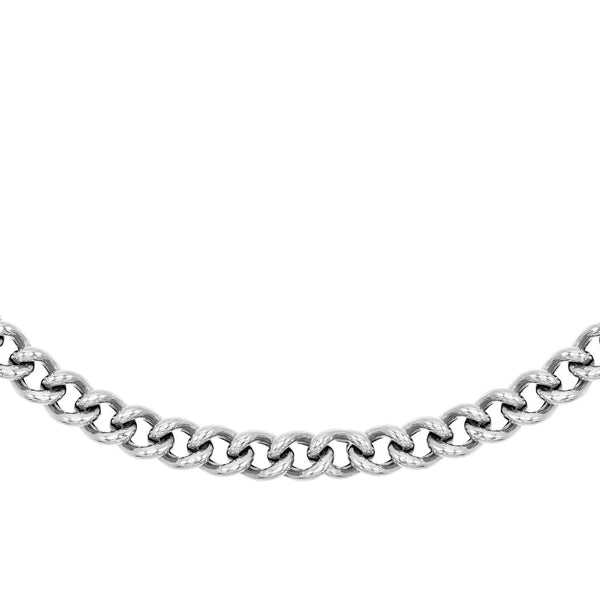Silver Large Chain Necklace - Adina's Jewels
