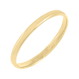 14K Gold / 5 Solid Band 14K - Adina's Jewels