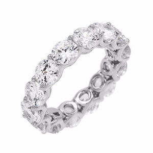 Silver / 6 Adina Eternity Band - Adina's Jewels