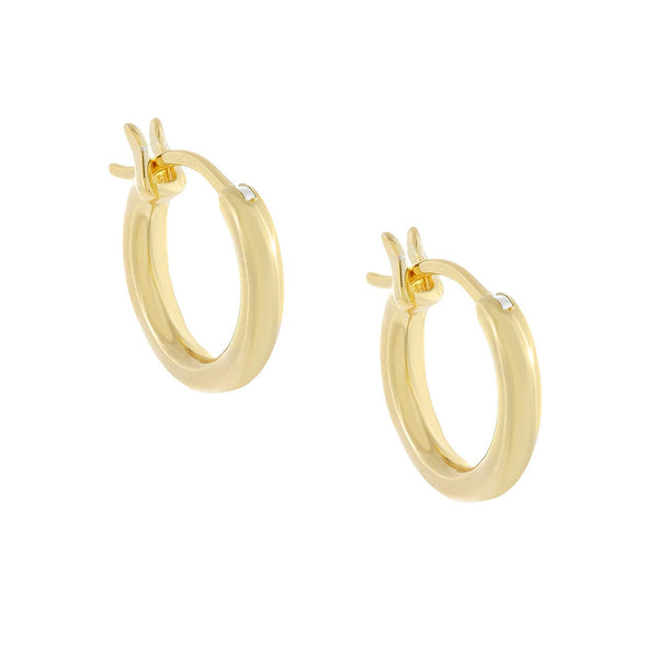 Tube Hoop Earring - Adina's Jewels