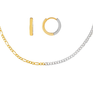 Combo The Dainty Two Tone Combo Set - Adina's Jewels