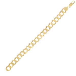 Gold XL Cuban Chain Bracelet - Adina's Jewels