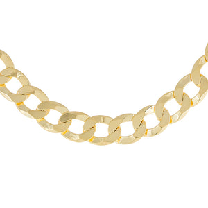Gold XL Cuban Chain Choker - Adina's Jewels