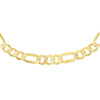 Gold 'XL' Hollow Figaro Choker - Adina's Jewels