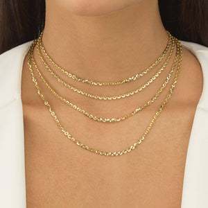 Round Chain Necklace - Adina's Jewels