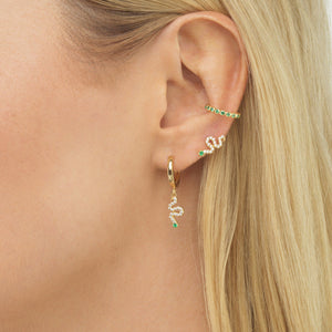 Snake Earring Combo Set  - Adina's Jewels