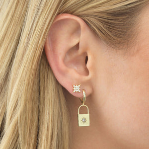 Starburst Stud Earring  - Adina's Jewels