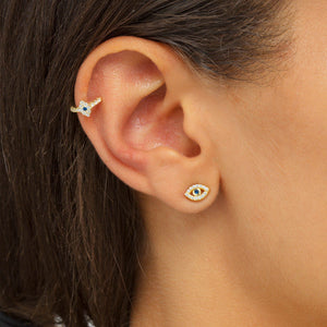 Evil Eye Stud Earring - Adina's Jewels