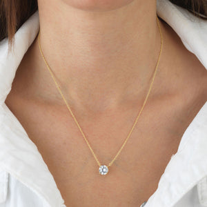 Solitaire Necklace - Adina's Jewels