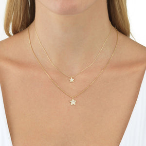 Layered Star Necklace Set - Adina's Jewels