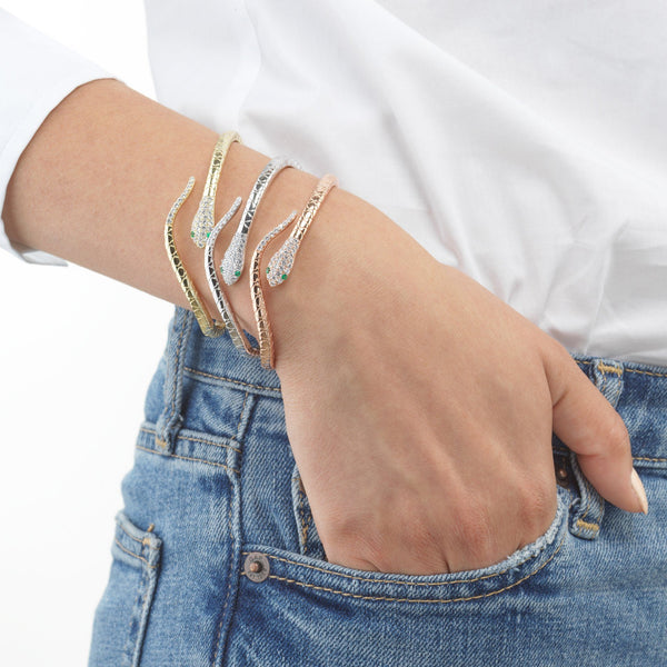 Snake Bangle - Adina's Jewels