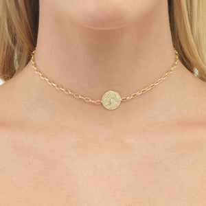 Coin Chain Choker  - Adina's Jewels