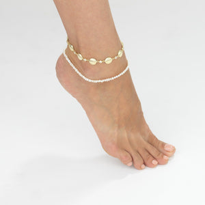 Pearl Anklet - Adina's Jewels