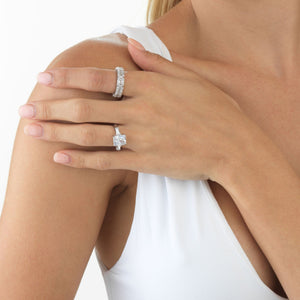 CZ Rectangle Ring  - Adina's Jewels