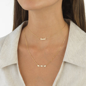 Loved Choker 14K  - Adina's Jewels