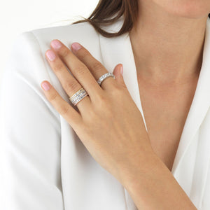 Trio Baguette Ring Set - Adina's Jewels