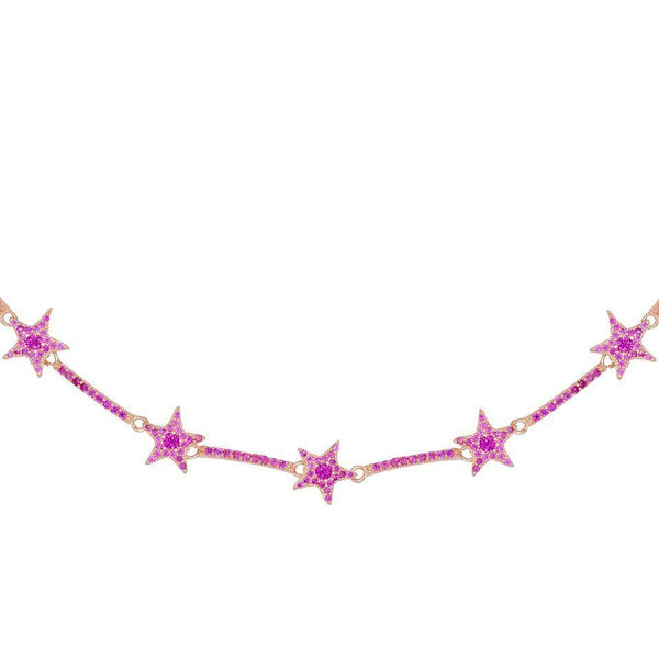 Colored Starz Choker - Adina's Jewels