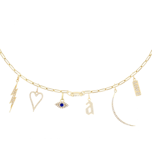 The Necklace Charm Builder - Customer's Product with price 2213.00 ID qim4YDRO5O0Q-jnY5Gnsvjex - Adina's Jewels