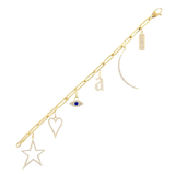 The Bracelet Charm Builder - Customer's Product with price 2183.00 ID G1H8ROKNMHIDIAQSuj6Msgs5 - Adina's Jewels