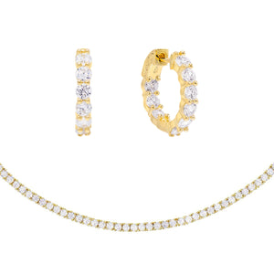 Bridesmaid Combo Set Gold - Adina's Jewels