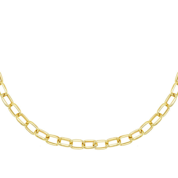 Gold Chunky Chain Link Necklace - Adina's Jewels