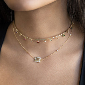 Square Choker  - Adina's Jewels