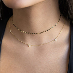 Cluster Choker / Necklace - Adina's Jewels