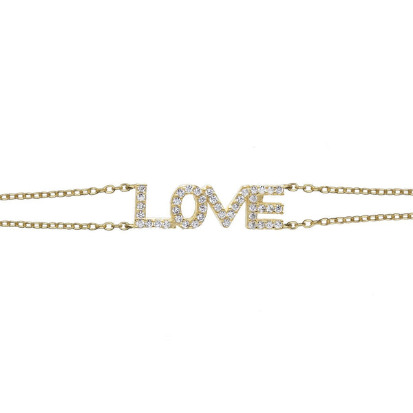 Gold Love Choker - Adina's Jewels
