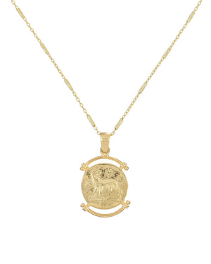 Greek Coin Pendant  - Adina's Jewels