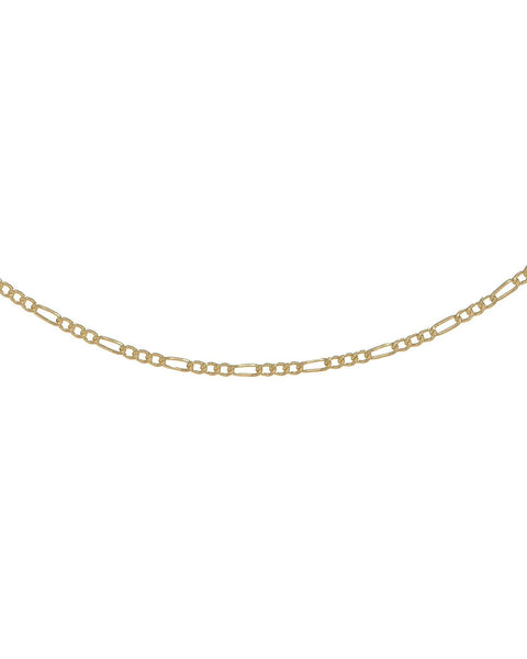 Gold Figaro Baby Necklace - Adina's Jewels