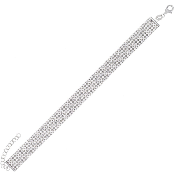 5 Row Tennis Bracelet - Adina's Jewels