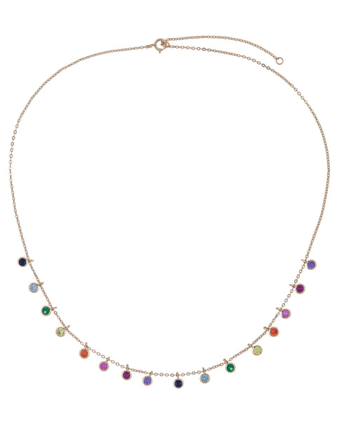 Rainbow Necklace - Adina's Jewels