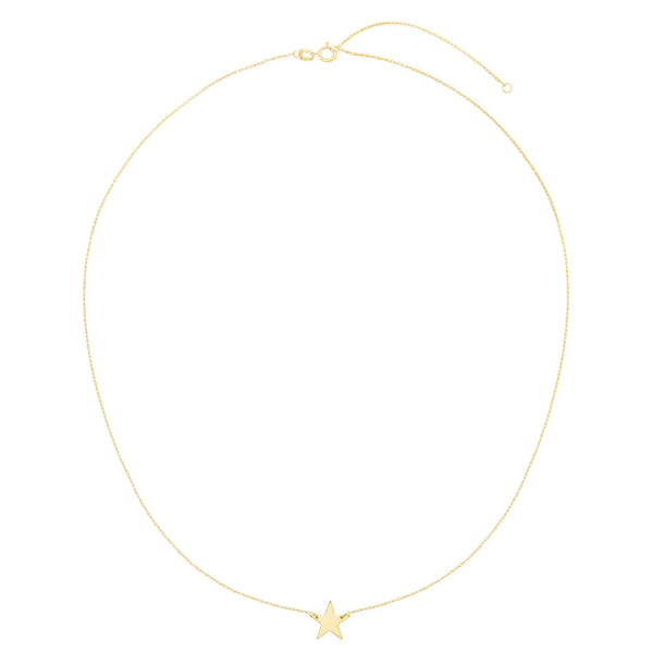 Mini Star Necklace 14K