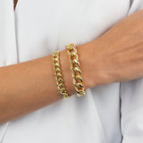Medium Miami Curb Link Bracelet - Adina's Jewels