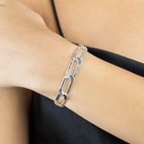 Twisted Paperclip Link Bracelet - Adina's Jewels