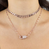XL Cuban Chain Choker - Adina's Jewels