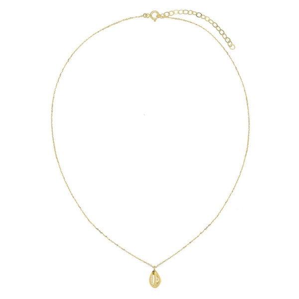 Shell Necklace 14K - Adina's Jewels