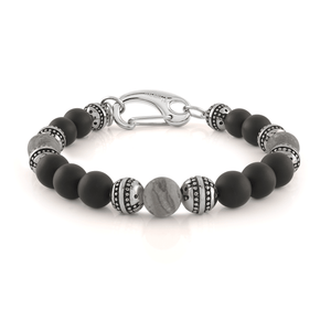 Onyx Onyx Beaded Bracelet - Adina's Jewels
