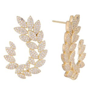 Gold Earrings - Adina's Jewels