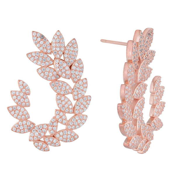 Rose Gold Earrings - Adina's Jewels