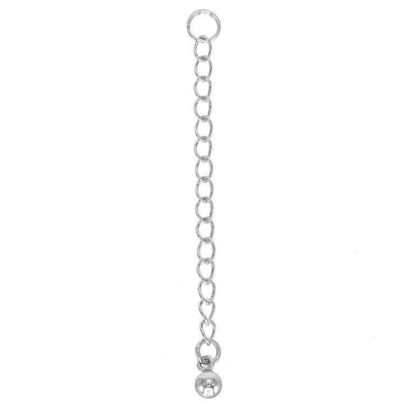 Silver Necklace Extender - Adina's Jewels