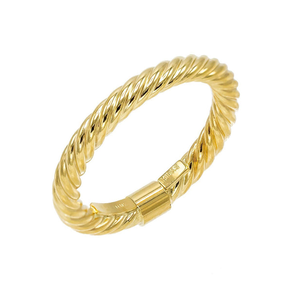14K Gold / 6 Rope Ring 14K - Adina's Jewels