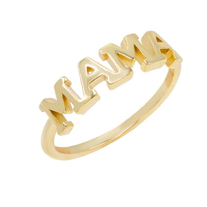 Gold / 8 Mama Ring - Adina's Jewels