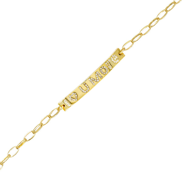 Gold I Love You More Bracelet - Adina's Jewels