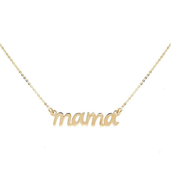 Mama Necklace 14K