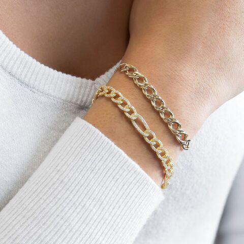 Links Bracelet 14K - Adina's Jewels