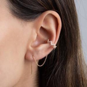 Threader Ear Cuff - Adina's Jewels