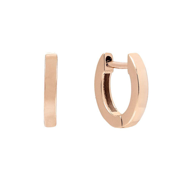 Tiny Ring Huggie Earring - Adina's Jewels